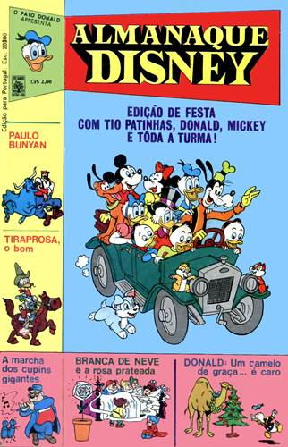 Download de Revista  Almanaque Disney - 001