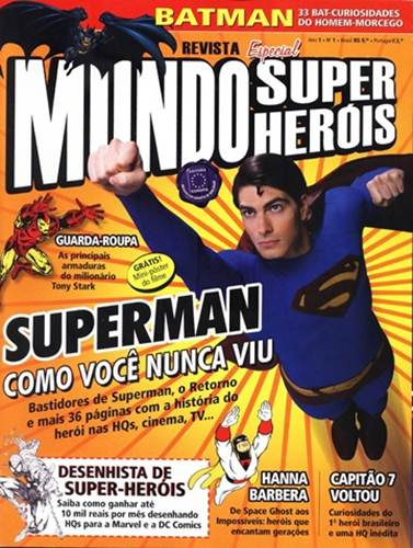 Download de Revista  Mundo dos Super-Heróis - 01