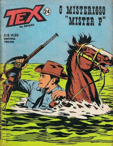 Download de Revista  Tex - 024 : O Mistério do Mister P