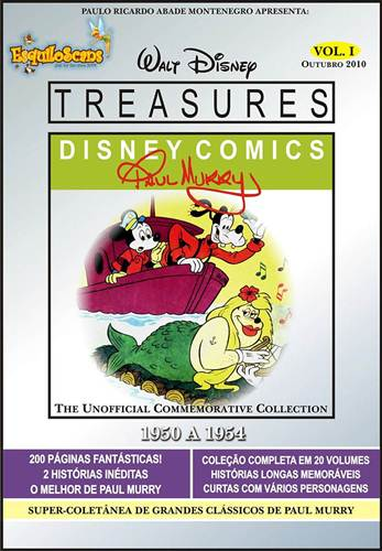 Download de Revistas Walt Disney Treasures - Paul Murry Vol. 01
