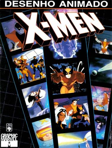 Download de Revista  Graphic Marvel - 08 : X-Men, o Desenho