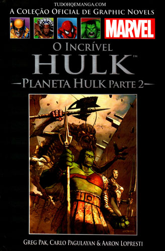 Download de Revista  Marvel Salvat - 047 : Incrível Hulk - Planeta Hulk Parte II