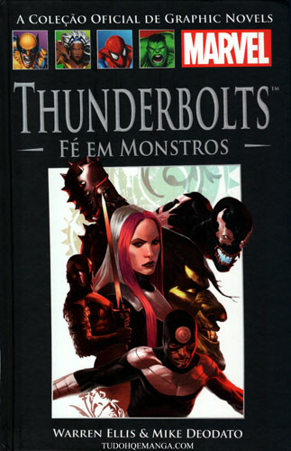 Download de Revista  Marvel Salvat 057 - ThunderBolts - Fé em Monstros