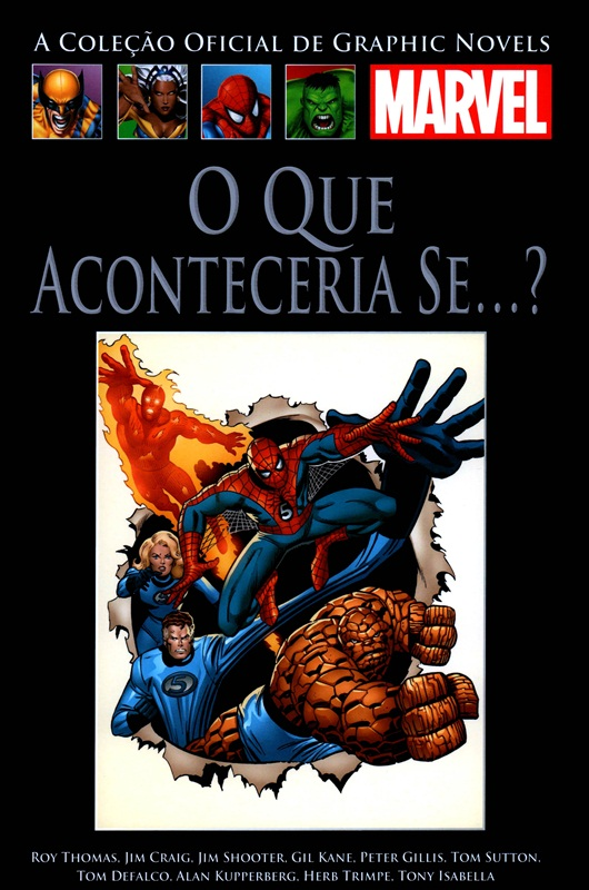 Download de Revista  Marvel Salvat Clássicos - 37 : O Que Aconteceria Se