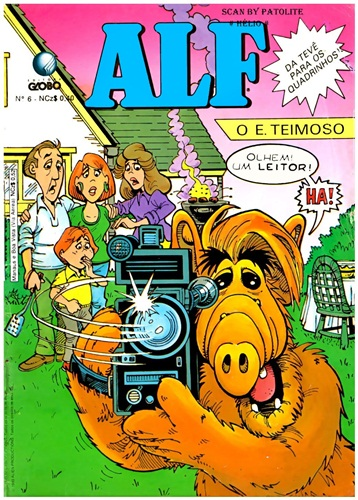 Download de Revista  Alf, O E. Teimoso - 06