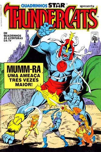 Download de Revista  ThunderCats (Ed. Abril) - 06