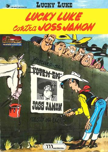 Download de Revista  Lucky Luke - Contra Joss Jamon