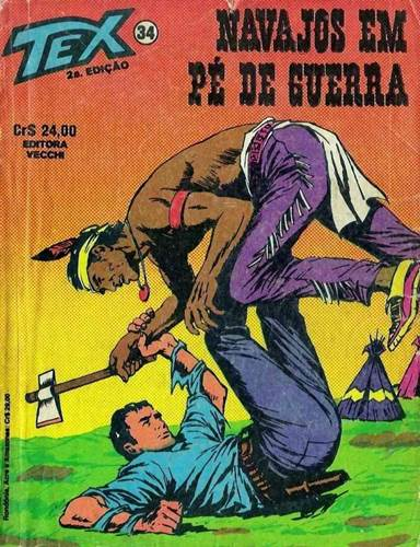 Download de Revista  Tex 034 - Navajos em Pé de Guerra