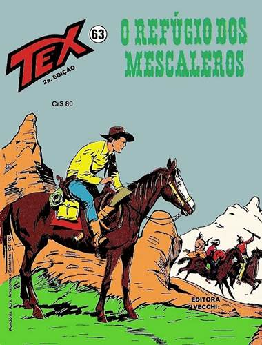 Download de Revista  Tex 063 - O Refúgio dos Mescaleiros