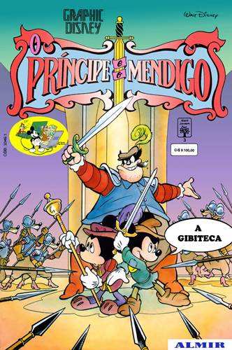 Download de Revista  Graphic Disney - 03 : O Príncipe e o Mendigo