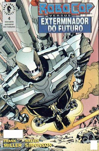 Download de Revista  Robocop vs. Exterminador do Futuro - 04
