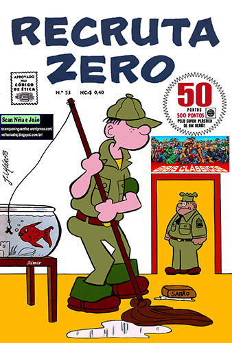 Download de Revista  Recruta Zero (Ed. RGE) - 053
