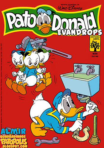 Download de Revista  Pato Donald - 1656