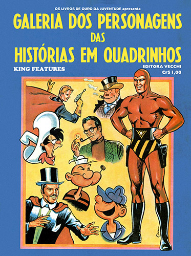 Download de Revista  Livro Ilustrado (Ed. Vecchi) - Galeria dos Personagens das HQ King Features