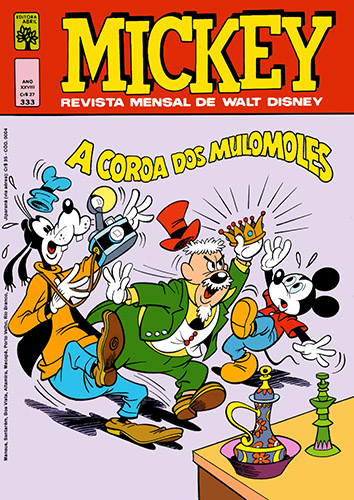 Download de Revista  Mickey - 333