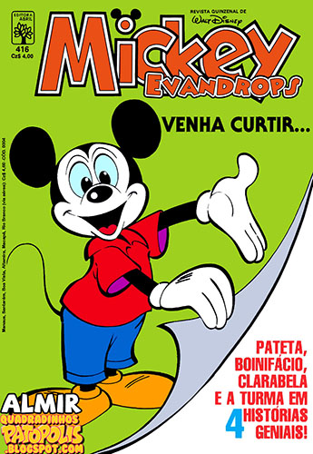 Download de Revista  Mickey - 416