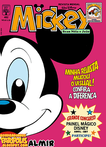 Download de Revista  Mickey - 482
