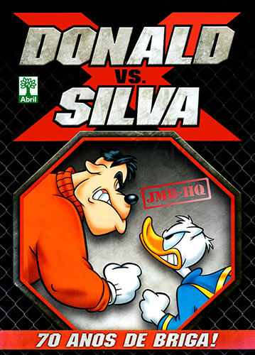 Download de Revista  Donald x Silva - 70 Anos de Briga!