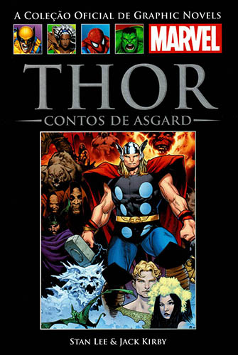 Download de Revista  Marvel Salvat Clássicos - 02 : Thor - Contos de Asgard