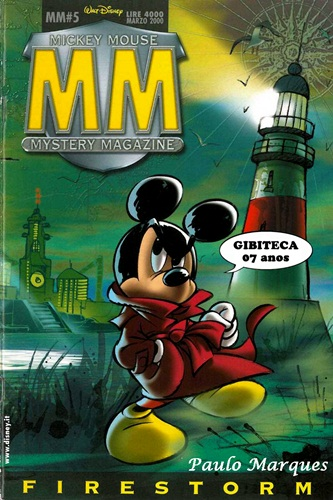 Download de Revista  Mickey Mouse Mystery Magazine - 05 : FireStorm