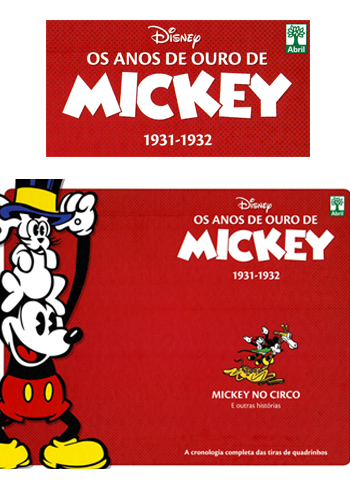 Download de Revista Os Anos de Ouro de Mickey 02 (1931-1932) - Mickey no Circo