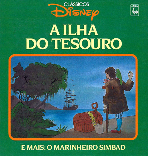 Download Clássicos Disney (Ed. Nova Cultural) - 07 : A Ilha do Tesouro & O Marinheiro Simbad