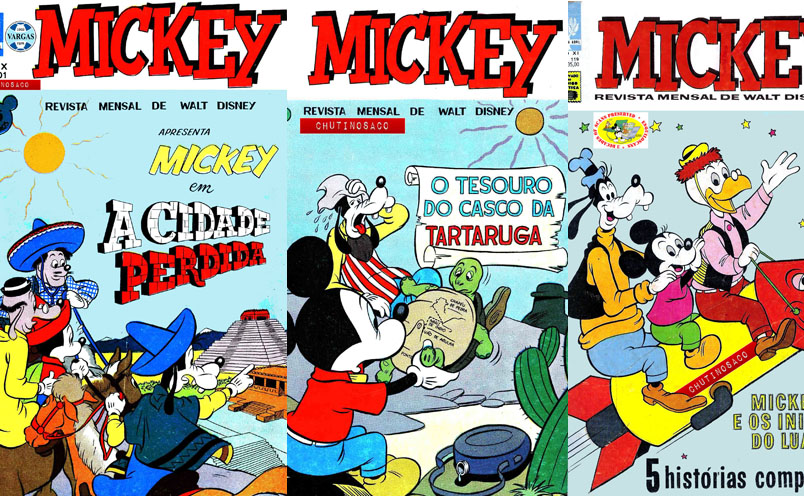 Download de Revista Mickey