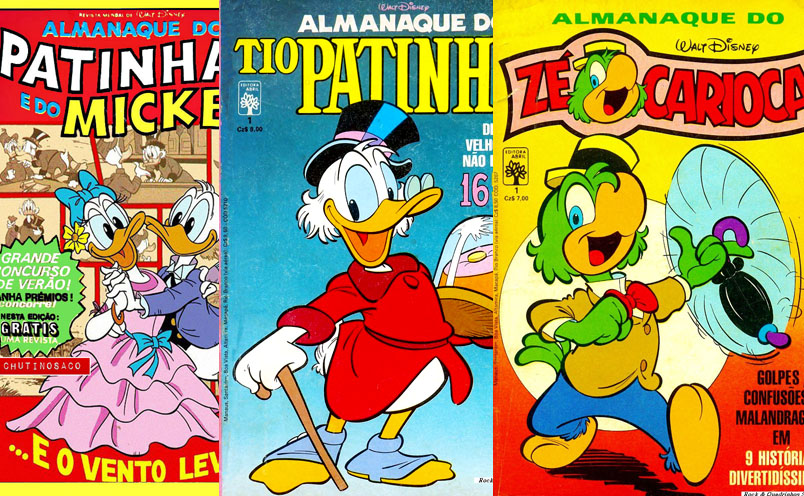 Download de Revistas  Almanaques de Personagens Disney