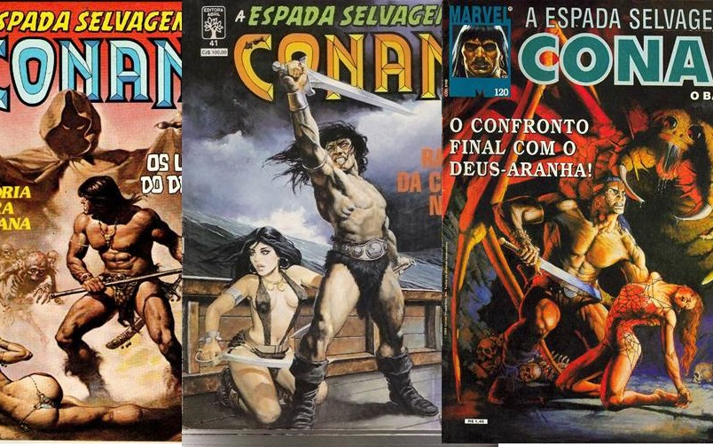 Download de Revista A Espada Selvagem de Conan