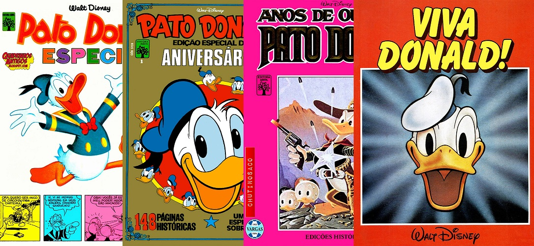 Download de Revistas  Pato Donald