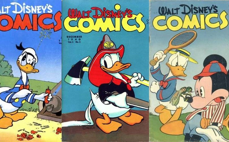Download Walt Disney Comics & Stories 001-100 [Inglês]