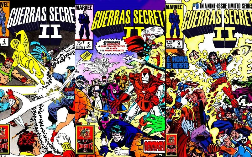 Download Guerras Secretas II (Série completa)