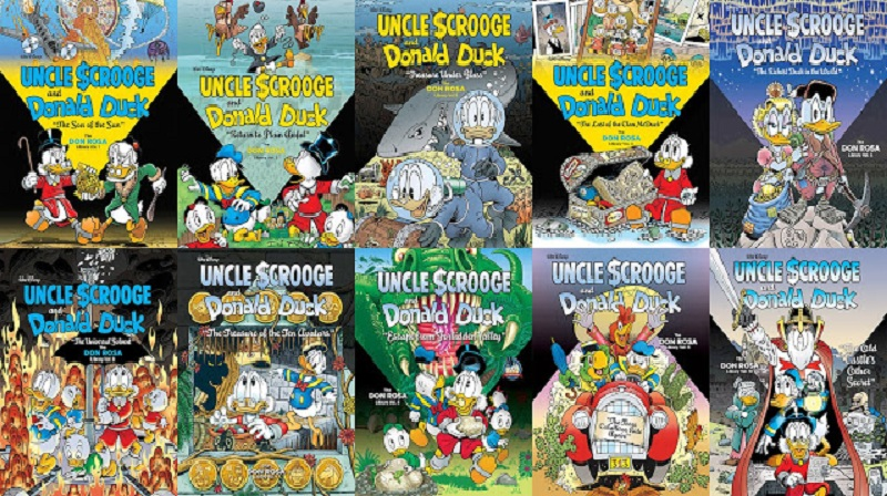 Download Uncle Scrooge and Donald Duck: The Don Rosa Library