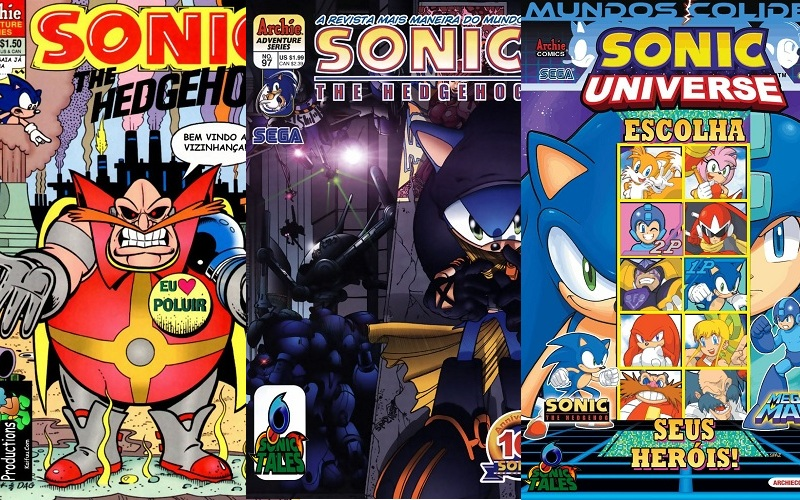 Download de Revistas  Sonic the Hedgehog
