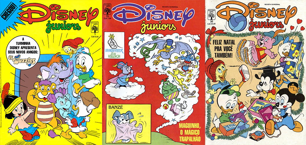 Download de Revistas  Disney Juniors